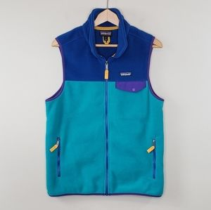 Patagonia Snap-T Synchilla Colorblock Vest
